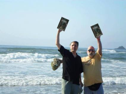 Courtesy Simon Strantzas (pictured are Mike Griffin and Joe Pulver)